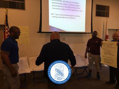 Tampa Alumni Chapter of Phi Beta Sigma members at the Sigma Retreat 2015.