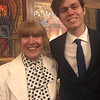 My mom, Despena Zouzas, with her sweet grandson, Brendan Zouzas Malone of Chelmsford, attending church service Holy Week