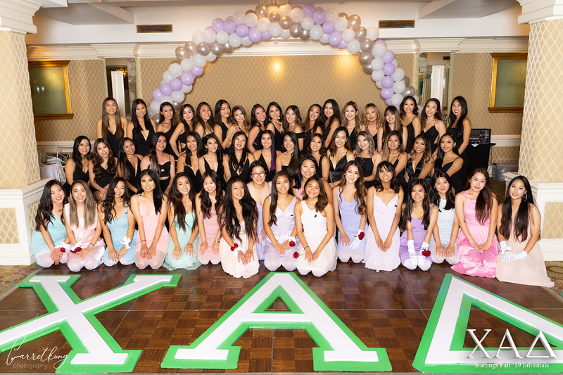 UCLA Chi Alpha Delta Fall 19 Informals Starlings