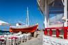 The Salparo Mykonos restaurant in Mykonos, Greece, Europe.