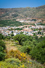 The mountain village of Neapoli  in eastern Crete, Greece.