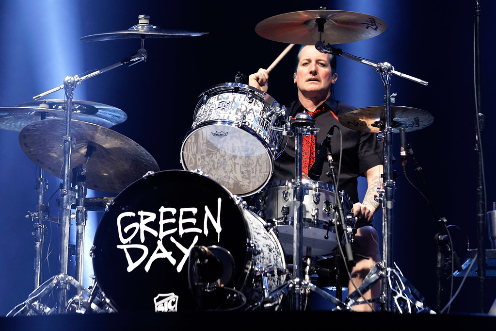 . Green Day live at Joe Louis Arena on 3-27-17.  Photo credit: Ken Settle