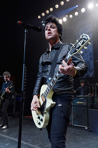 Green Day live at Fillmore Detroit on 10-24-16.  Photo credit: Ken Settle