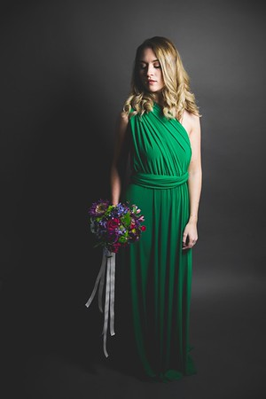 Green Dress 012 - Nicole Marie Photography