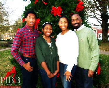 Green Family Holiday Shoot
