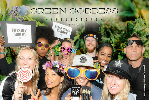 420 at Green Goddess Collective.  GreenGoddessCollective.com.  Photo Booth by VenicePaparazzi.com