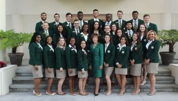 USF Ambassadors Green Jacket Campaign