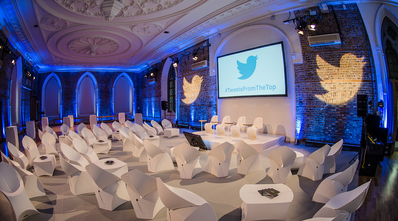 Twitter at Smock Alley