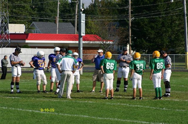 8th Grade Greens vs John Deere