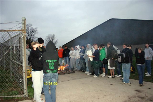 Burning Of The Jock