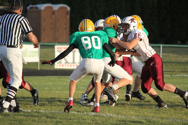 Freshman B Game vs Rockridge 9-26-12