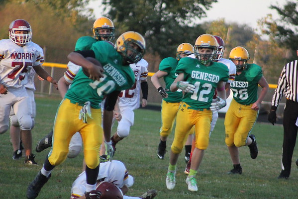 Freshman vs Morris 10-20-16