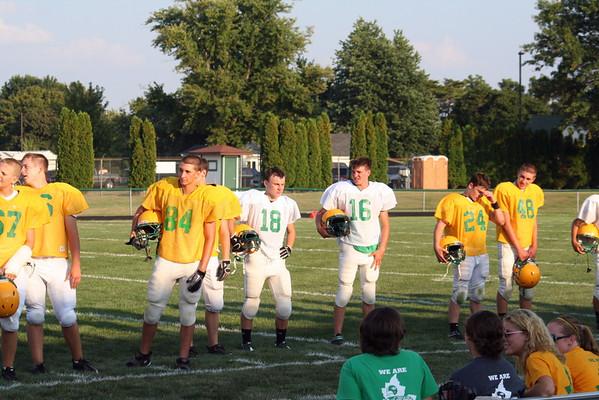 Sophomores - Green/White Game