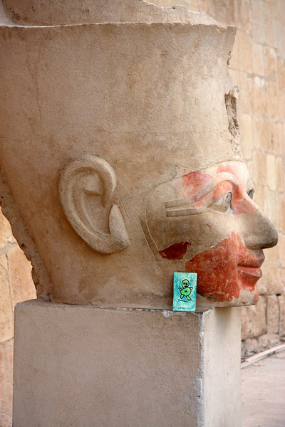 Green Man Traveller, Luxor, Egypt