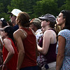 GREG SUKIENNIK -- MANCHESTER JOURNAL<br /> Green Mountain Bluegrass & Roots Festival audience members dance to Mipso on Saturday.