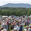 GREG SUKIENNIK -- MANCHESTER JOURNAL<br /> The audience takes in the music at the Green Mountain Bluegrass & Roots Festival on Saturday.