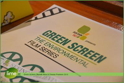 Green Screen - Benefit Wine & Cheese Premiere 2013