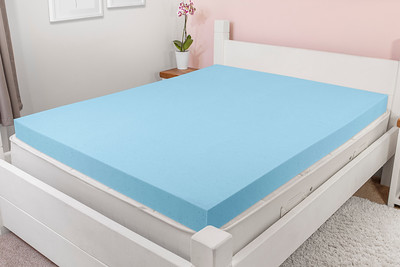 Cool Blue Mattress Topper Crop