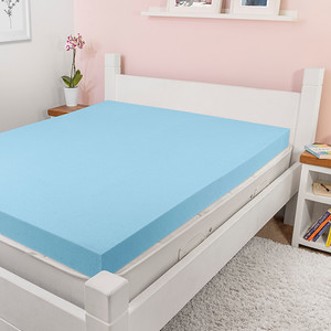 Cool Blue Mattress Topper Square