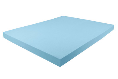 Cool Blue Mattress Cutout