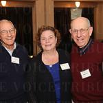 Phil Lawyer, Mary Jean Gandolfo  and George Higgins.