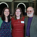 Jessica Stephens, Amy Waters and Bob Bush.