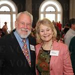 Lee Pennington and Jill Baker.
