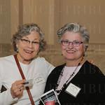 Barbara Franklin and Lynn Rosenthal.