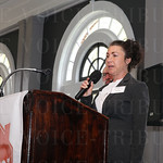 The Green Spark Community Service Award went to Olmsted Parks Conservancy. Sarah Wolff spoke after receiving that award.