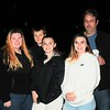 Sammi Grant, Hailie Hoffart, Kendra Grant, Felicia Grant and Matthew Hoffart came to the Green Park Vigil for the little girl who lost her life on Thursday / Jim Fay