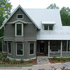 The Davidson Gap Plan by Allison Ramsey Architects built at Whisper Mountain in Leicester, North Carolina.This plan is 3085 Heated Square Feet, 3 Bedrooms, 4 Bathrooms. North Carolina Collection Page 68, NC0068.