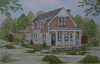 The Poets Cottage Plan by Allison Ramsey Architects built at Griffin Park, Greeneville, South Carolina.This plan is 1,768 Heated Square Feet, 3 Bedrooms, 2 1/2 Bathrooms. North Carolina Collection , NC0022.