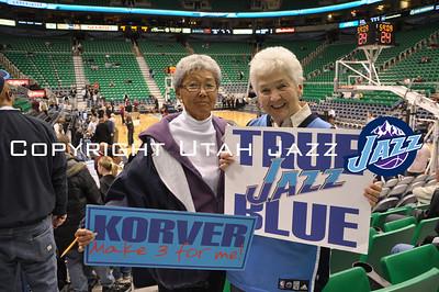 Jazz vs TrailBlazers Dec 11, 2008