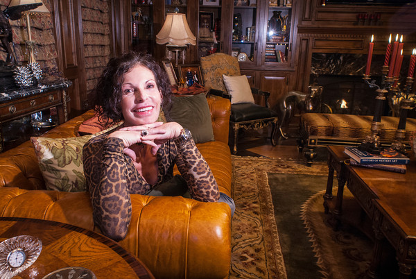 Angela Scott has put her stamp on every room of her River Bend home, including the living room.