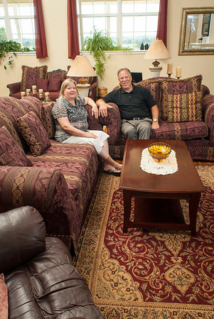 Gary and Jan Jobe have converted a WPA schoolhouse into a comfortable home.