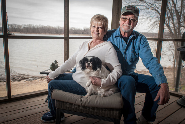 Sandy and Lynn Wright have connected deeply to their new community since moving here from Moore five years ago.