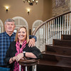 Bill Inhofe shares his 9,400-square-foot plantation-style home with his girlfriend, Vonda Boswell.