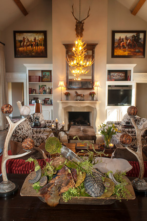 Jim Harris Jr. has created a home that mixes Old World comfort with a Western style sensibility.