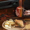 Erly Rush Coffeehouse offers freshly brewed coffee, pastries and panini throughout the day.