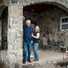 Danny and Janet Haley love their back porch with its view of the Arkansas River.