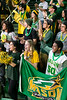 George Mason Fans.  Photo by:  Ron Aira/Creative Services/George Mason University