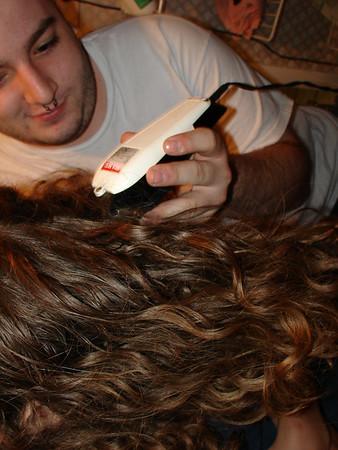 Max Gets A Haircut 5.28.2006
