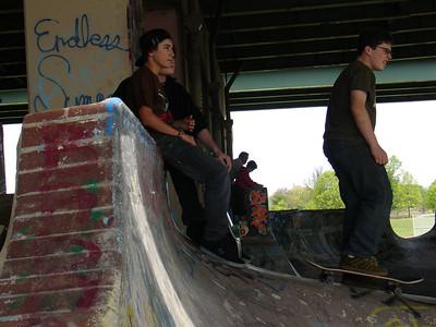 Skating FDR Park Phila, PA
