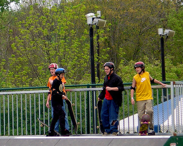 Skating Wakefield Skate Park Fairfax