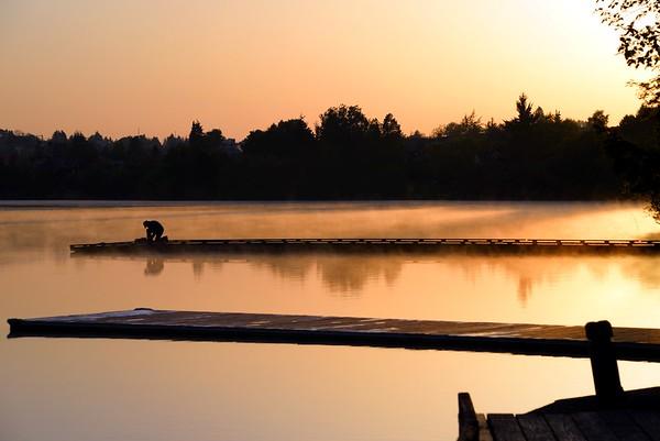 Morning At Greenlake