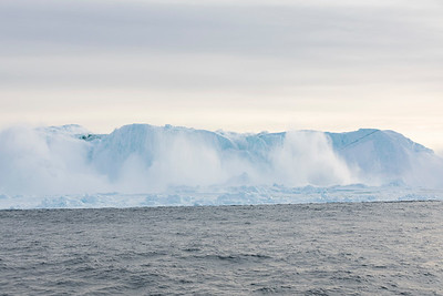 There was a big iceberg there a minute ago and uhoh all that ice is coming my way fast