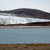 The edge of the Greenland ice sheet near Kangerlussuaq.