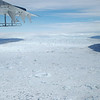 The Jakobshavn Isbræ (or Jakobshavn Glacier) is one of the fastest flowing glaciers on Earth.