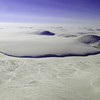 Land terminating glacier on Baffin Island, Canadian Arctic.