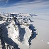 The Geikie Plateau near the east coast of Greenland.